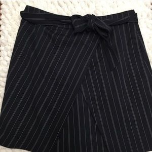 Banana republic pinstripe skirt